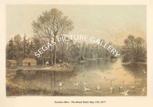 Scoulton Mere - The Broad Water May 15th 1877